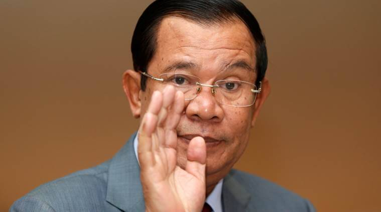 Cambodia, Kem Sokha, Cambodia PM, Hun Sen, Cambodia freedom of speech, Cambodian People's Party, World news, Indian Express