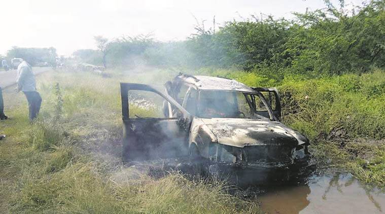 pune police news, pune car accident news, pune news, indian express news