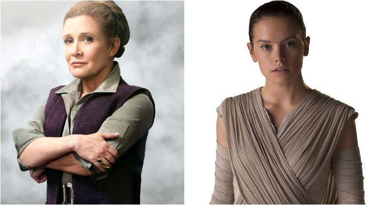 carrie fisher, daisy ridley, carrie fisher daisy ridley, star wars, carrie fisher daisy ridley star wars, carrie fisher star wars, diasy ridley star wars