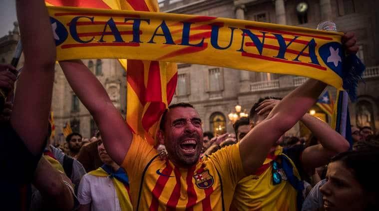 Catalonia, Catalonia independence, Spanish crisis, Spain catalan crisis, Mariano Rajoy,Carles Puigdemont, Catalan referendum, world news, indian express