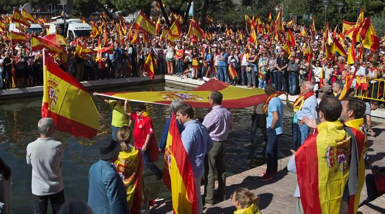 spain independence member of catalan govt wants cease fire with spain the indian
