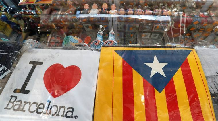 catalonia, spain, catalonia movement, catalonia protests, spain separatist state, spain, world news, indian express news