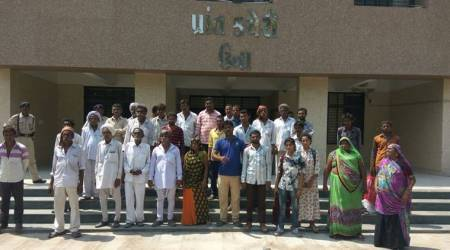 Flogged for skinning dead cow: Una dalits demand land, jobs; threaten to go on hungerstrike