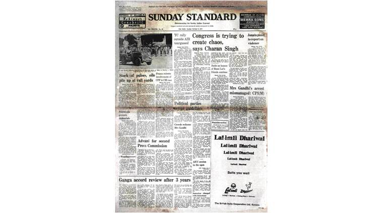 October 9, 1977, Forty Years Ago: Reception For Indira