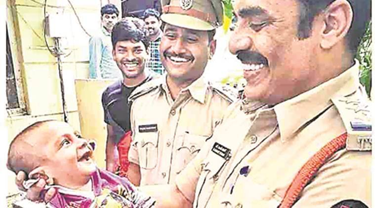 4 month old child rescued, crime news, kidnapping, Hyderabad, Hyderabad News, India News, Indian Express