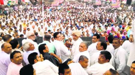 Congress leaders hold parallel rallies in Haryana