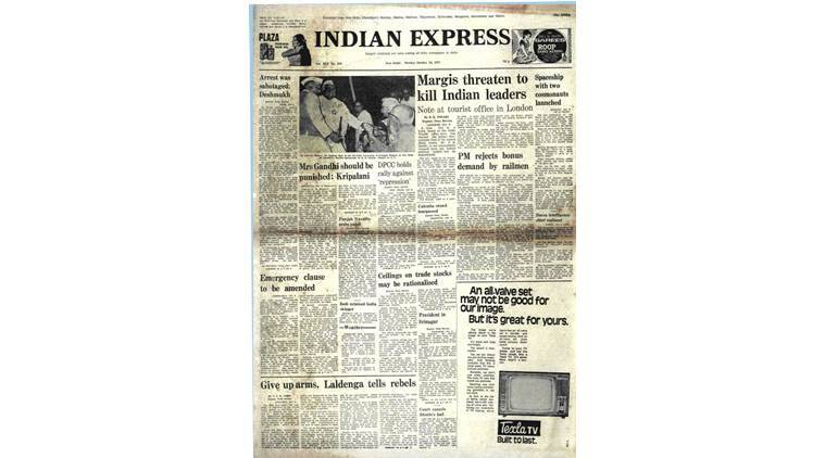 Nanji Deshmukh, Janta Party, India Gandhi, Indira Gandhi arrested, Congress, India News, Indian Express, Express Archive