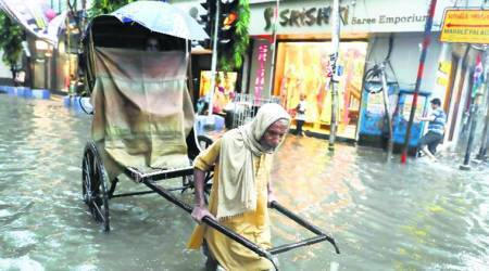 Heavy rain, winds throw life out of gear in Kolkata