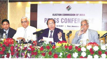 No doubt that Gujarat elections will be held in December, satisfied with poll preparations: CECJoti