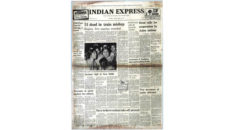 Forty Years Ago, Express Archive, Nobel Prize, Nobel Peace Prize, Amnesty International, World News, Indian Express
