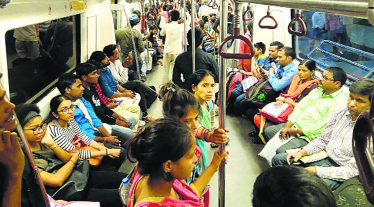Delhi metro, Delhi metro fare hike, Delhi metro prices, Metro fare revision, Aam Admi Party, Government of Delhi, Delhi news, Indian Express