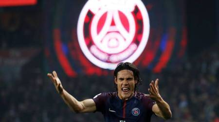 Ligue 1: Edinson Cavani double spurs PSG to 3-0 win over Nice