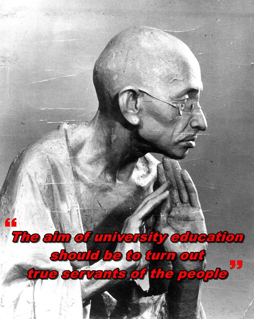 gandhi jayanti five quotes by mahatma gandhi on education