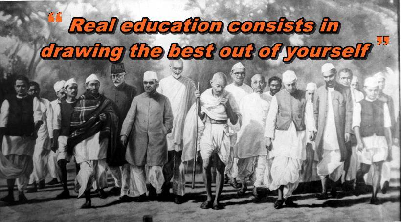 Gandhi Jayanti 2018 Five Quotes By Mahatma Gandhi On Education