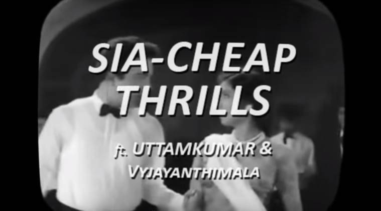 cheap thrills, sia cheap thrills, cheap thrill different version, sasti masti, cheap thrills hindi, viral video, Indian express, Indian express news