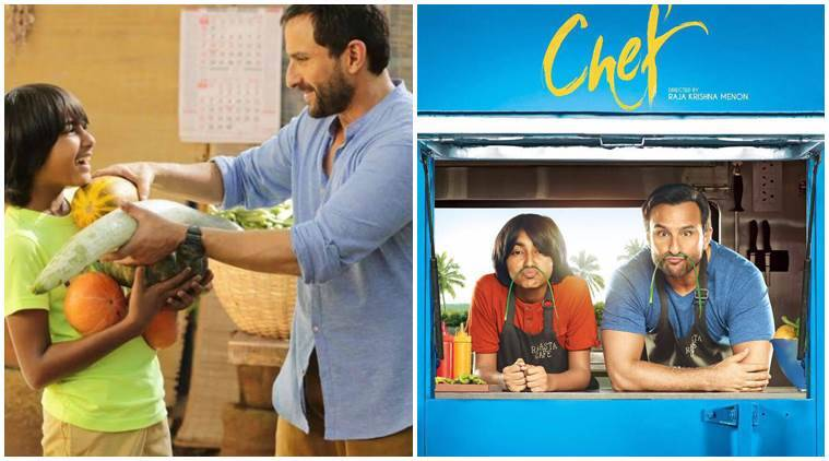 chef box office collection Day 2, chef, chef collections, chef box office report, saif ali khan, Padmapriya Janakiraman, Svar Kamble, milind soman, chef film, chef box office collection, chef box office collection latest news, Judwaa 2 box office collection latest updates, chef box office, chef news, indian express news