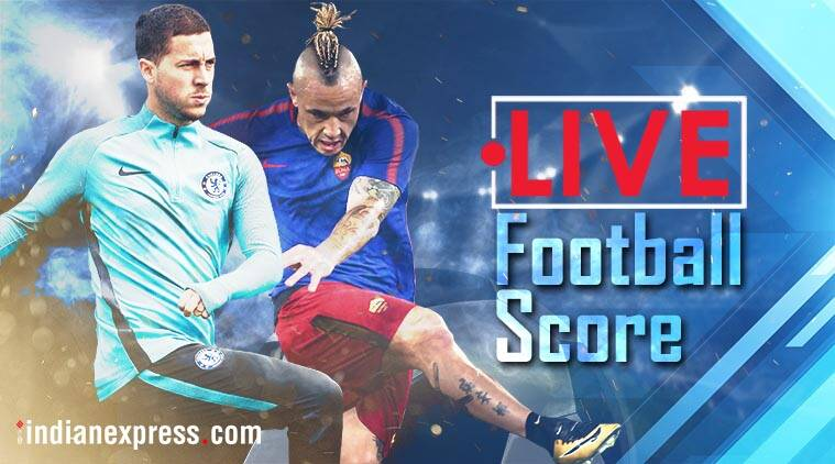 chelsea vs roma, chelsea vs roma score, chelsea vs roma highlights, benfica vs manchester united score, football news, champions league scores, sports news, indian express
