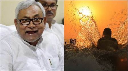 Nitish hopes the Sun God will smile upon him as he organizes Chhath