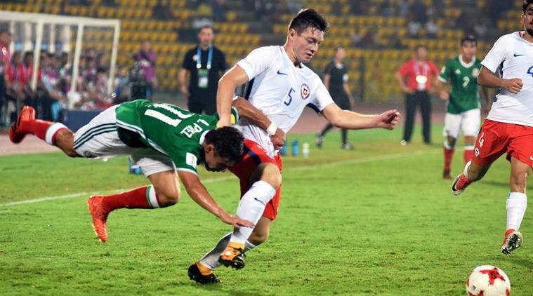 FIFA U-17 World Cup, FIFA U-17 World Cup schedule, Chile vs Mexico, Chile, Mexico, sports news, football, Indian Express