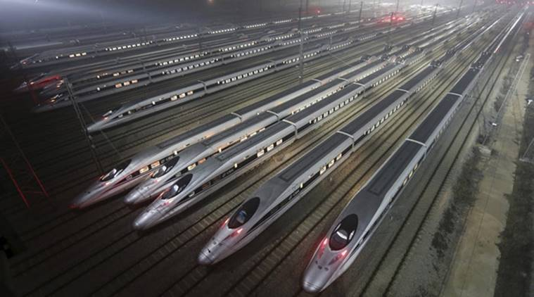 China's high-speed train maker to get USD 30 billion for export push