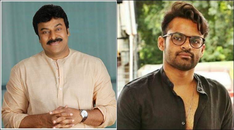 sai dharam tej, chiranjeevi, chiranjeevi sai dharam tej, chiranjeevi photo, sai dharam tej photo, chiranjeevi pic, sai dharam tej pic, indian express,
