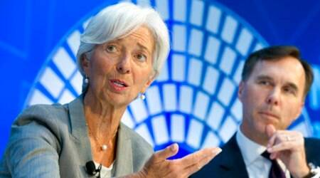 IMF chief says Indian economy on 'solid track'