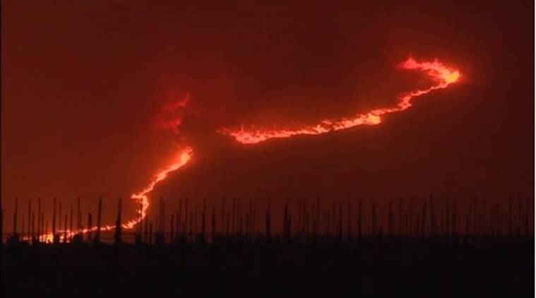 california fire, sonoma fire, sonoma wildfire, sonoma california fire, sonoma fire evacuate, sonoma fire people dead, world news, indian express news