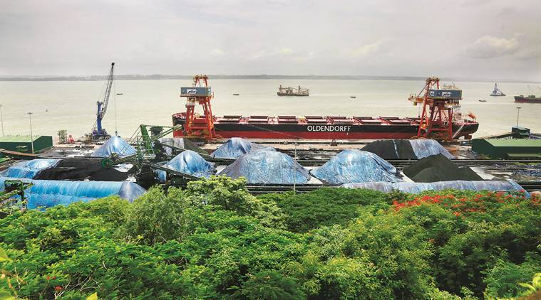 goa, coal, coal in goa, coal profits, Mormugao Port, Express coal investigation, coal burying goa, indian express, goa news, indian express, coal in goa