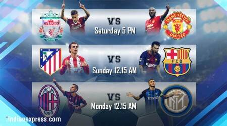 Football fixtures: Liverpool vs Manchester United, Atletico Madrid vs Barcelona, Inter Milan vs AC Milan time in IST, TV channel, online streaming, live coverage