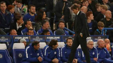 Antonio Conte says Chelsea are training 70 percent lesser than last season
