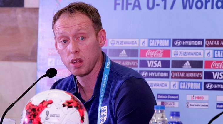 FIFA U-17 World Cup, England, England coach, Steve Cooper, sports news, football, Indian Express