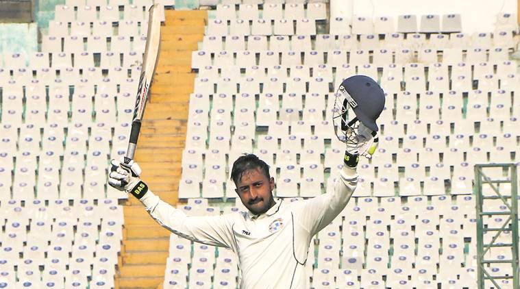 Col C K Nayudu Trophy, Col C K Nayudu Trophy Abhijeet Garg, chandigarh Abhijeet Garg, chandigarh Col C K Nayudu Trophy, chandigarh news, indian express news