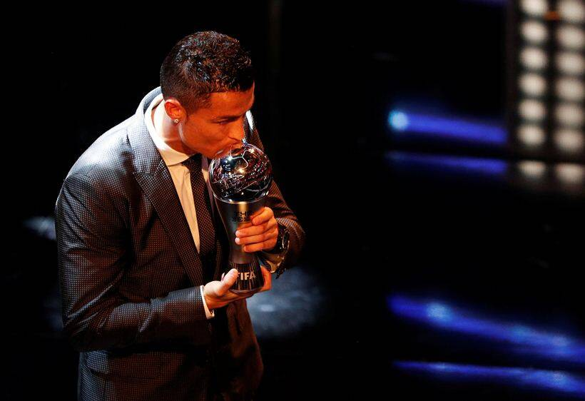 Ronaldo Named The Best In 2017, Equals Messi Record