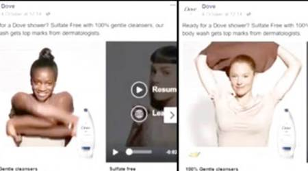 Dove apologises for Facebook soap ad that many callracist