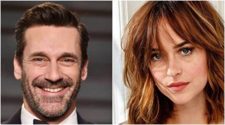 Fifty Shades Darker actor Dakota Johnson spotted on a dinner date with Jon Hamm