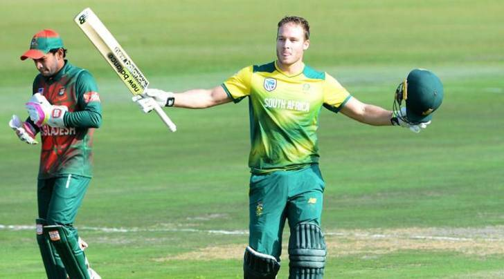 David Miller, David Miller hundred, South Africa national cricket team, South Africa vs Bangladesh, Quinton de Kock, AB de Villiers