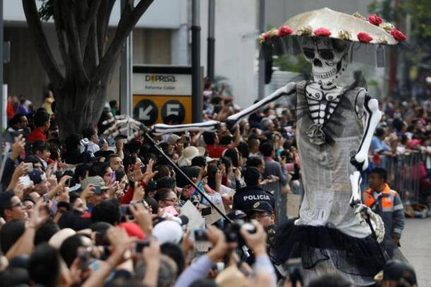 Day of the Dead: James Bond movie inspired parade in Mexico commemorates quake victims, see photos