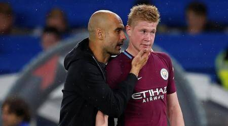 Kevin De Bruyne has made a step forward, says Pep Guardiola after 1-0 win over Chelsea