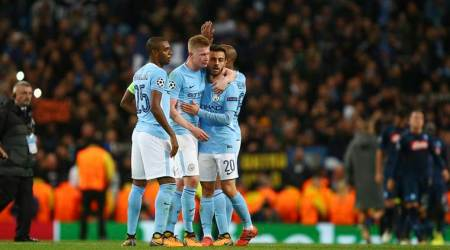 manchester city, kevin de bruyne, manchester city champions league