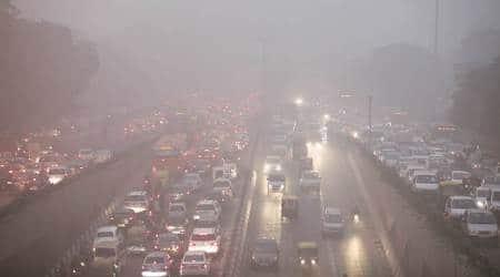 iwali pollution, PM 2.5, diwali pollution 2017, air quality index, aqicn, cpcb, delhi air quality, air quality PM 2.5, delhi poor air quality, indian express, indian express news