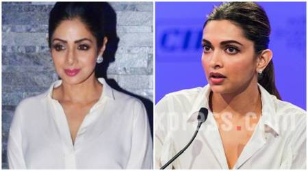 Deepika Padukone or Sridevi: Who wore the white shirt better?