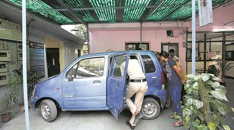 kejriwal car, arvind kejriwal, kejriwal car found, kejriwal car missing, delhi news, indian express, indian express news