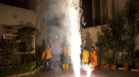 Delhi fire department gets over 200 calls on Diwali, big blaze in cloth godown