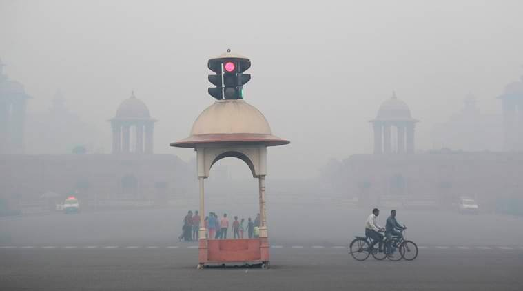 Image result for Post Diwali, Delhi air quality 'severe', but better than last year,