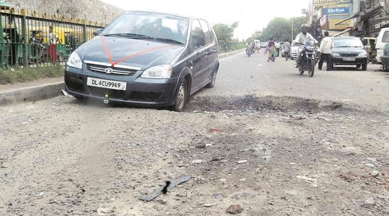 delhi, delhi roads, delhi Environment Pollution, delhi dust control measures, delhi news
