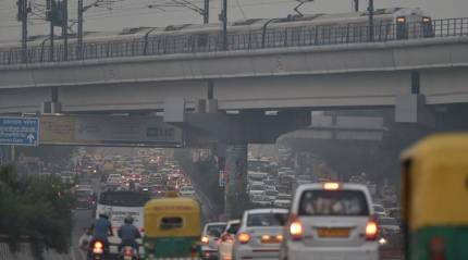 Less pollution in Delhi this Diwali but air quality still way above safe limits
