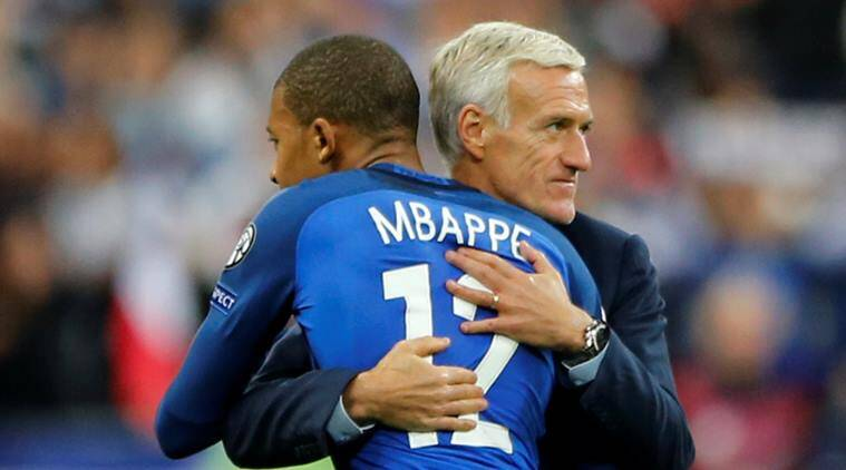 france vs belarus, didier deschamps, france football qualifying, world cup qualifiers, football news, sports news, indian express