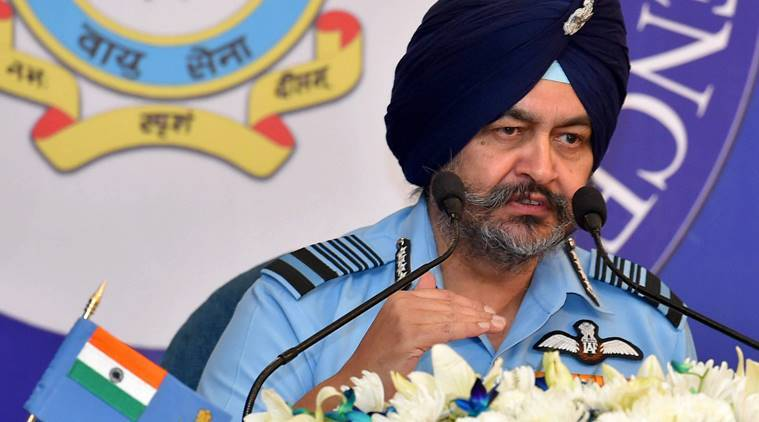 Amid Indo-Pak tension, IAF chief BS Dhanoa says air force cautious and alert along border