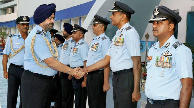 BS Dhanoa, Chief of Air Staff, India Air Force, Security of Air Base, Western Command, Commanders Conference, India News, Indeian Express, IAF Squadrons, IAF preparedness, battle readiness