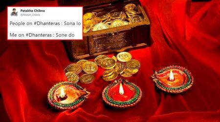 Dhanteras 2017: Twitter bursts with funny tweets and 'no pollution' gyaan